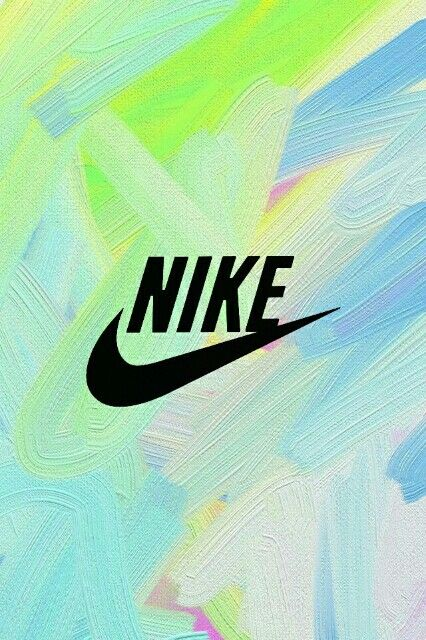 Nike sign Nike wallpaper Tropical background Pink Exercise