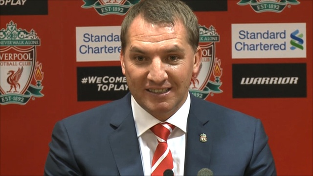 BBC Sport - Liverpool manager Brendan Rodgers to 'fight for his life'