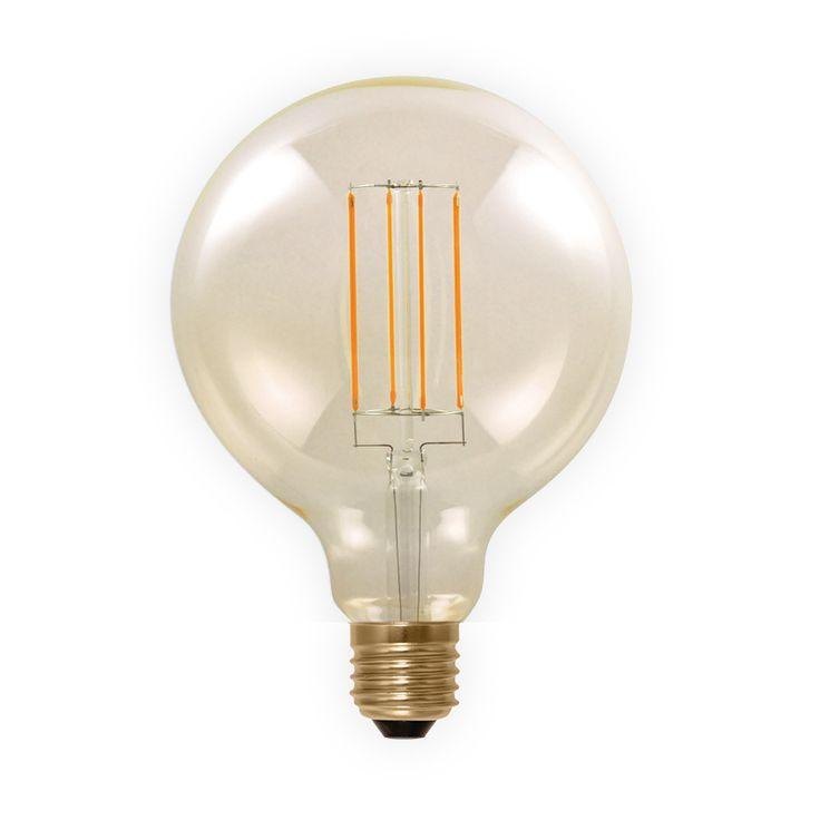 Spectacular LED lamp W E filament Segula dimbaar