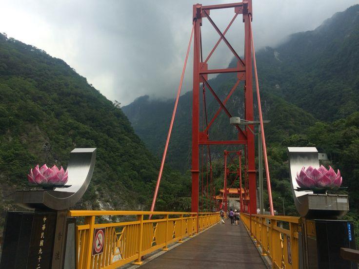 Taroko National Park , Taiwan . here is the last stop of Taroko trip