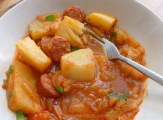 Hungarian Paprika Potatoes - Paprikás Krumpli