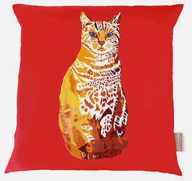 William the Cat Cushion