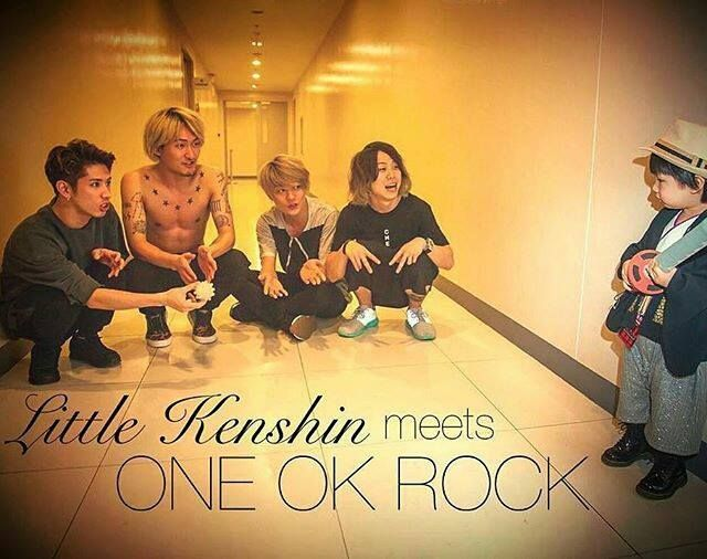 One ok rock meets baby kenshin