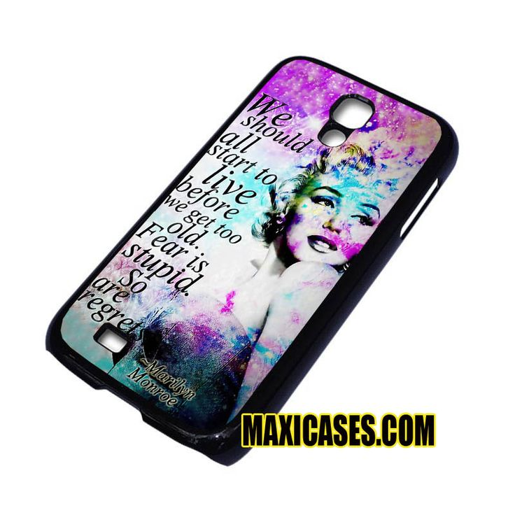 marilyn monroe galaxy quotes iPhone 4, iPhone 5, iPhone 6 cases