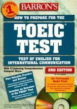 LOUGHEED, Lin. Barron's how to prepare to the TOEIC test (1999). Cote : A TOE