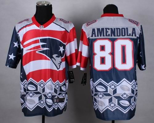 Nike New England Patriots 80 Danny Amendola Noble Fashion elite jerseys $  30.0