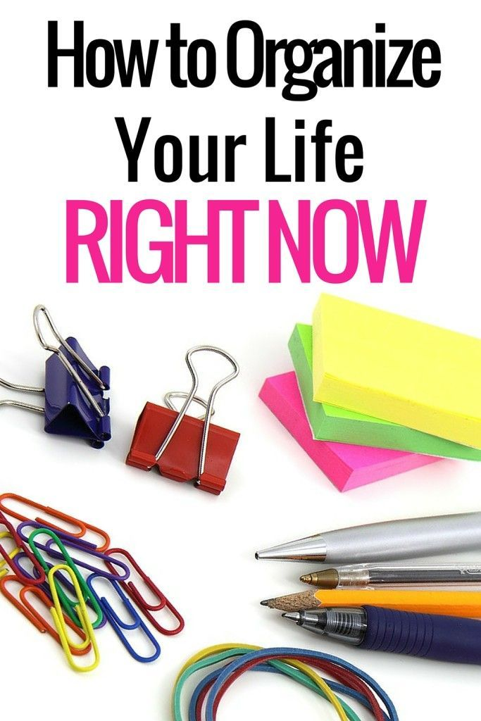 It's time. Here are 18 ways to get organized right now in your personal life and business life. If you side hustle - there are tips for you too!