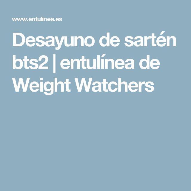 Desayuno de sartén bts2 | entulínea de Weight Watchers