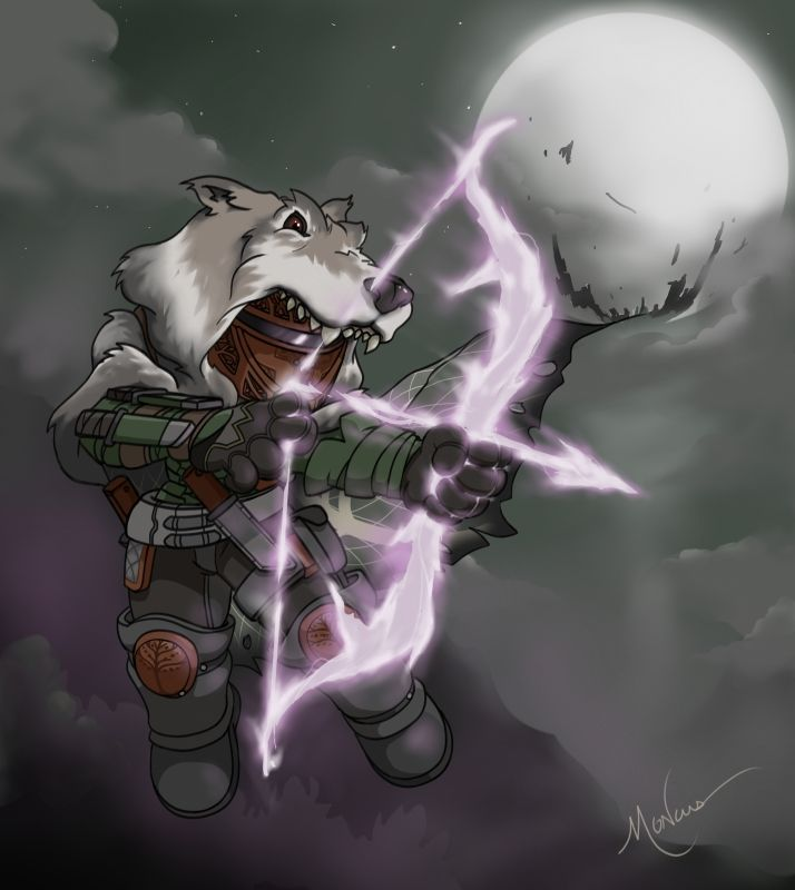 Destiny Iron Banner Nightstalker Hunter Brian Moncus Art Portfolio