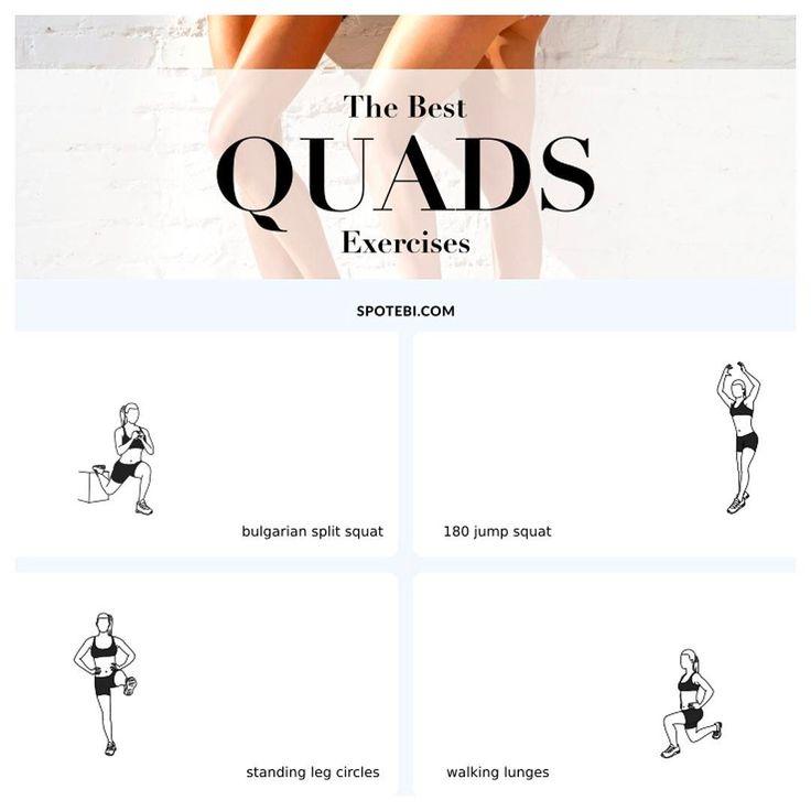 Best ideas about quad exercises on pinterest slim