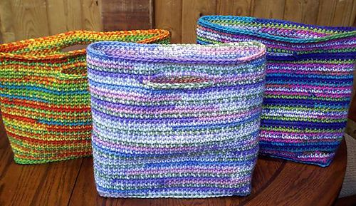 Gift bags that keep on giving: free pattern