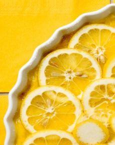 Tarta cytrynowa - przepis