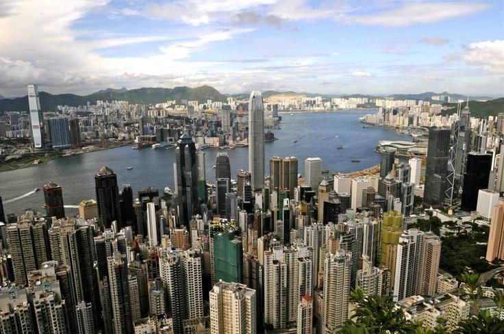 Hong Kong's iconic skyline.