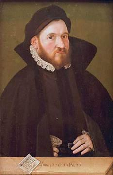 Portrait of the Braunschweig goldsmith Dietrich Kostede; Artist: Ludger tom Ring the Younger, German, 1522-1584; Date: 1570; Currently in the collection of the LWL-Landesmuseum für Kunst und Kulturgeschichte