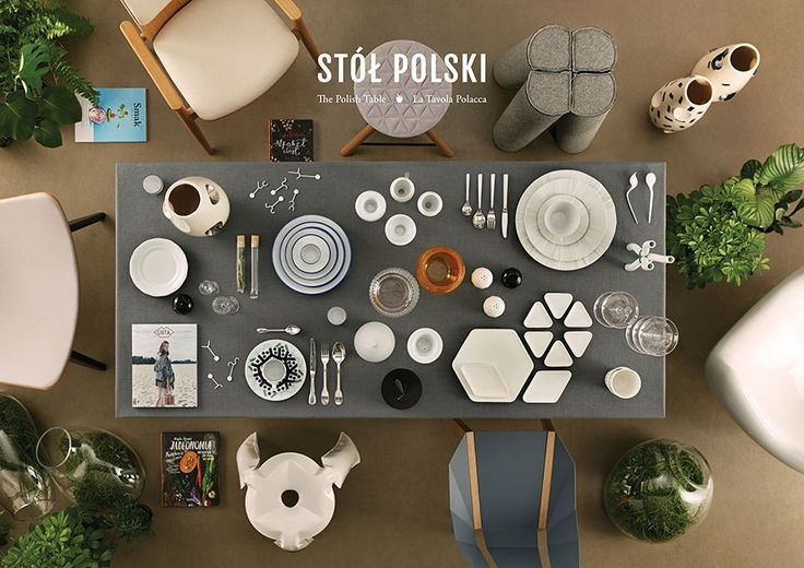 """Polish Table"" exhibition – a project presented in the Polish Pavilion at the EXPO Milano 2015 / by Grynasz Studio for Institute of Industrial Design"