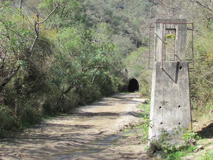 Catamarca, La Merced, Tuneles Ferroviarios en desuso