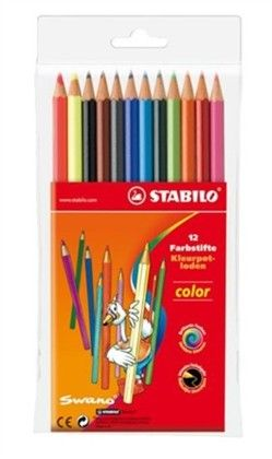 Kleurpotloden Stabilo Color 12 stuks