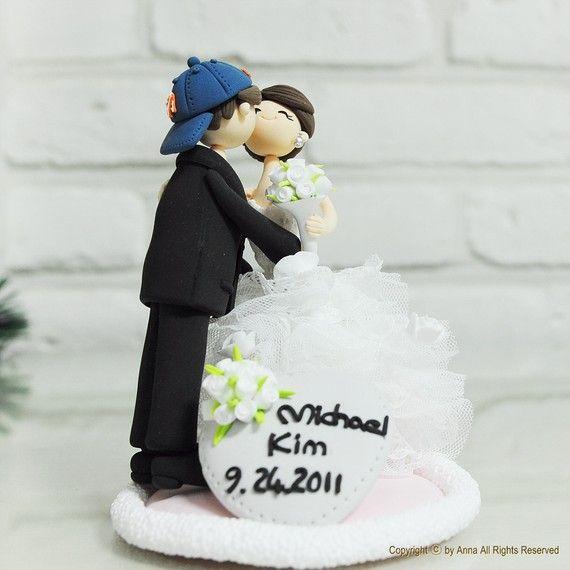 Sports theme wedding cake topper Decoration  .. Keywords: #weddings #jevelweddingplanning Follow Us: www.jevelweddingplanning.com  www.facebook.com/jevelweddingplanning/