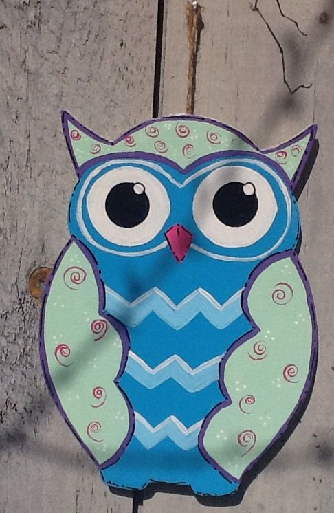 Best Painting Owls Images On   Owls Painted Owls