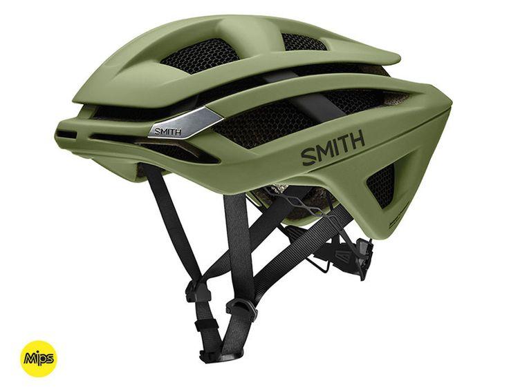 Smith - Overtake Matte Olive - MIPS Bike Helmet
