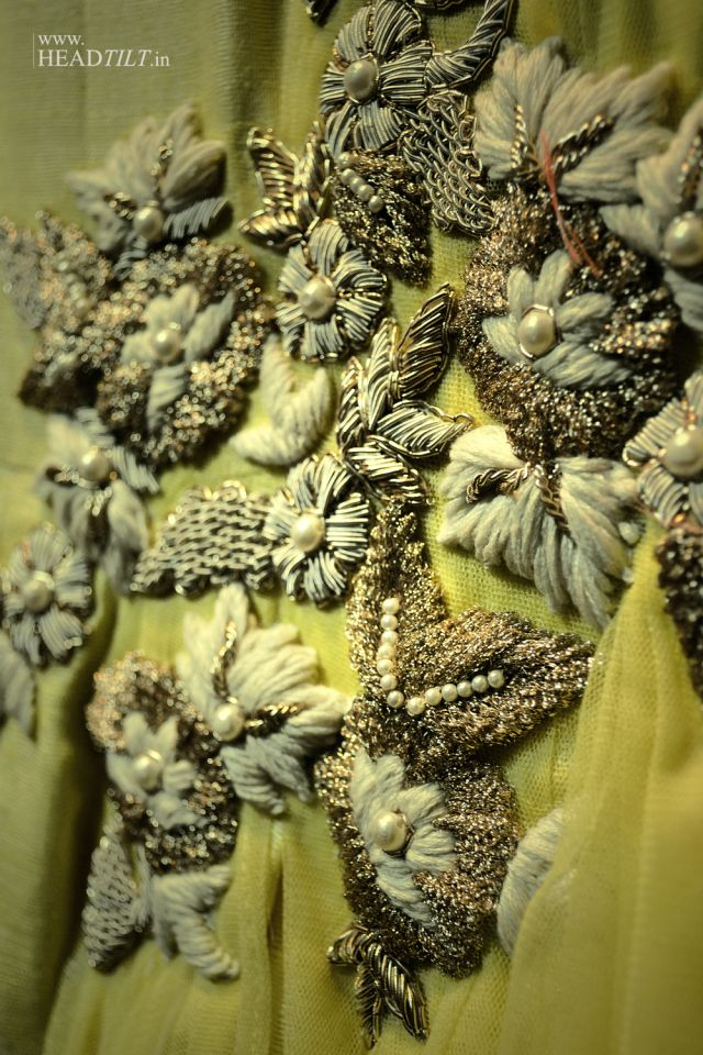 Ridhi Mehra #RidhiMehra #fashion #details #embroidery #India #couture