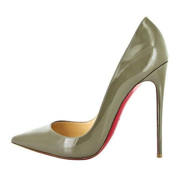 Christian Louboutin Fall 2013 Collections the CITIZENS of FASHION ❤ liked on Polyvore featuring shoes, heels, shiny shoes, red sole shoes, polish shoes, christian louboutin and christian louboutin shoes