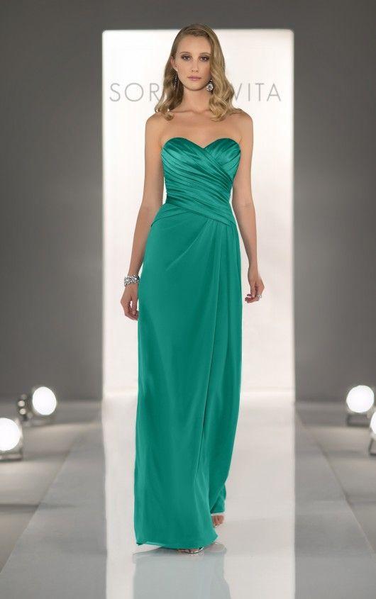 8268 Jade Bridesmaid Dresses by Sorella Vita