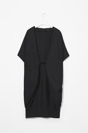Folded side dress - cos
