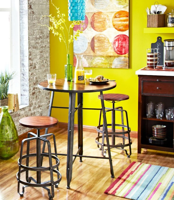 Wood Pub Bistro Small Bar Chairs Table Kitchen Nook: Best 25+ Bar Height Table Ideas On Pinterest