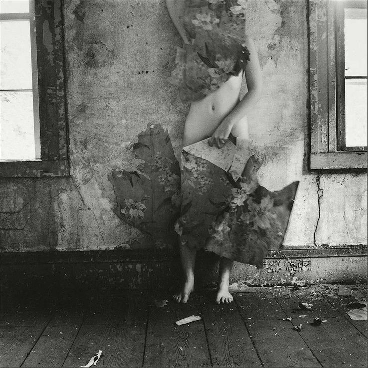 Francesca Woodman · Self Portrait | Self-timer · 1976