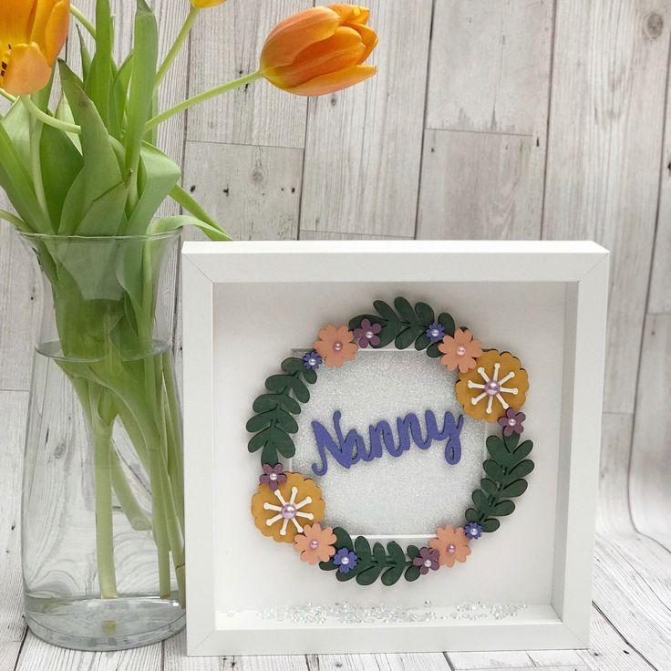 Brand New Mother's Day Frame Available £18 #Wolverhampton #westmidlands #customclothing #giftideas #handmade #etsy #etsyshop #etsyseller #personalised #personalisedgift #etsyuk #gift #shopsmall #smallbusiness uk #etsysellers #etsybuzz #etsyfinds #boxframe