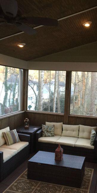 Gorgeous Porch Install