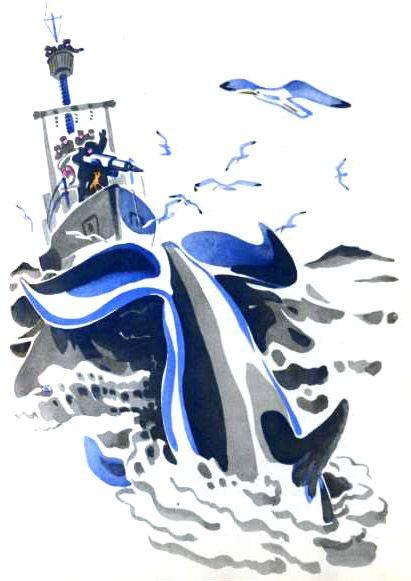 "Май Митурич «Чудесная лодка» | ""Картинки и разговоры"""