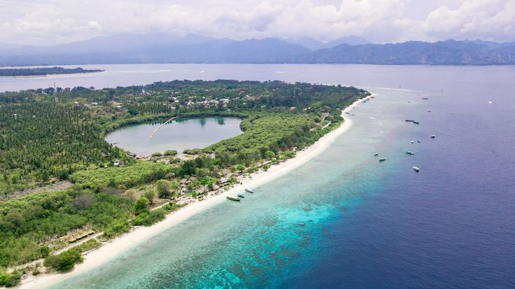 Gili Islands With private access to the white-sand beach and 20 experienced staff members on hand, you are bound to enjoy your stay at the palm-fringed Anandita Villa.