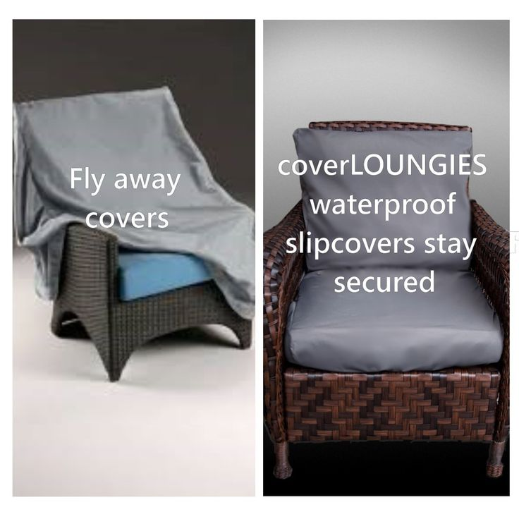 CoverLOUNGIES© will not fly away.