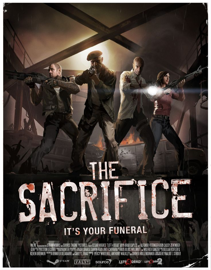 The Sacrifice - Left 4 Dead 2 The saddest campaign.......