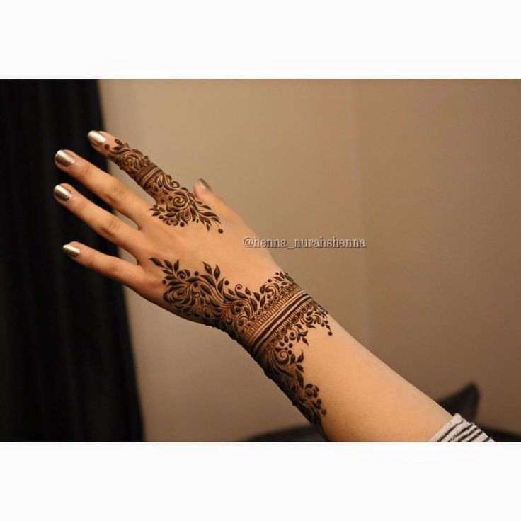 Henna Tattoo Uk: Gorgeous And Intricate Henna Designs Created By