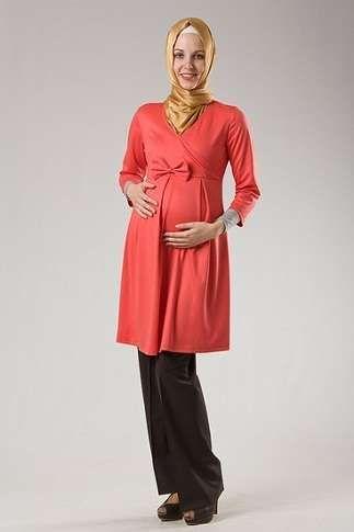 Kapalı Bayanlar İçin Hamile Kıyafetleri