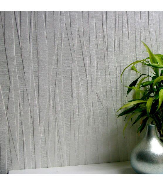 Folded Paper Paintable Textured Vinyl Wallpaper