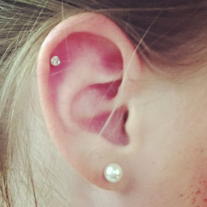 Exactly what I want!!!! Upper lobe on both sides (already have standard lobe) and helix on the right!!!!!! :)
