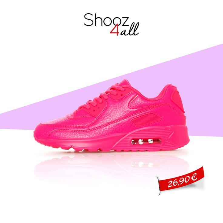 Σε άκρως καλοκαιρινό και κοριτσίστικο φούξια χρώμα, γυναικεία αθλητικά παπούτσια που θα κλέψουν τις εντυπώσεις. Δημιουργήστε μοναδικά sport σύνολα για το γυμναστήριο και τη βόλτα σας! http://www.shooz4all.com/el/gynaikeia-papoutsia/gynaikeia-athlitika-papoutsia/gynaikeia-athlitika-papoytsia-fuksia-fxz22-detail #shooz4all #athlitika #gynaikeia
