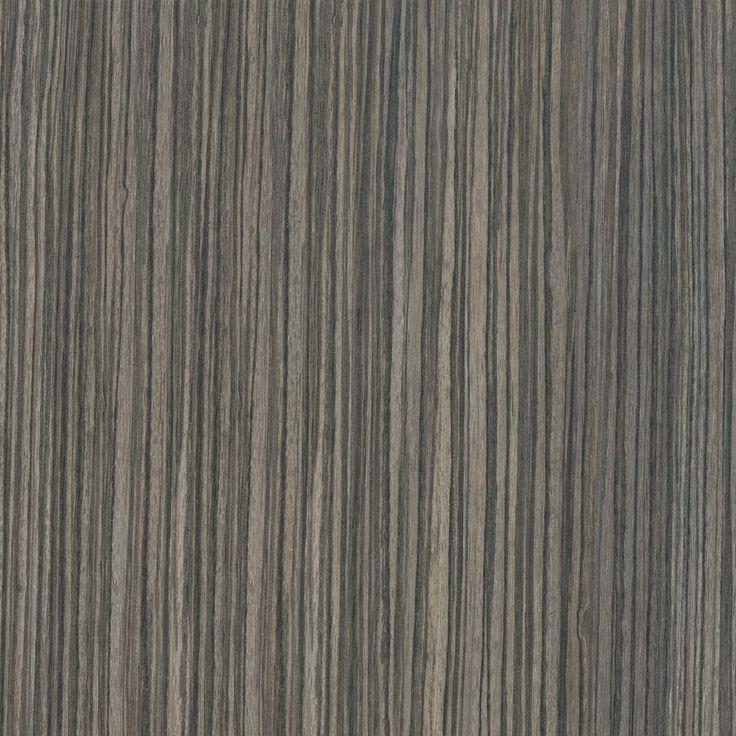 A distinctive stripey timber grain pattern in beige, dark grey-brown and taupe…