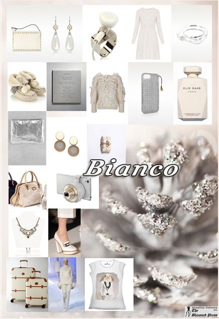 Bianco Natale 2013: il mio Style Board con le idee regalo per lei
