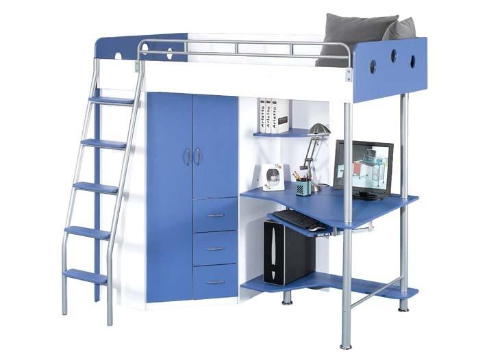 jysk 500 laiva loft bedwork station laiva twin loft bedcomputer work - Loft Twin Bed Frame