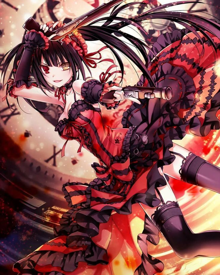 Anime Art Otaku Kurumitokisaki Originalart Animelovers Datealive Anime Date Date A Live Anime Wallpaper