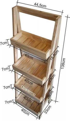 organizador cocina, madera