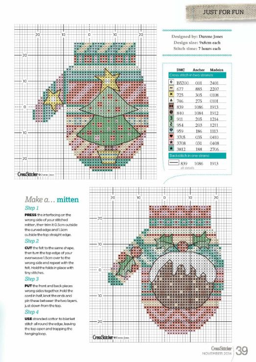 Gallery.ru / Фото #25 - Cross Stitcher 285 - patrizia61