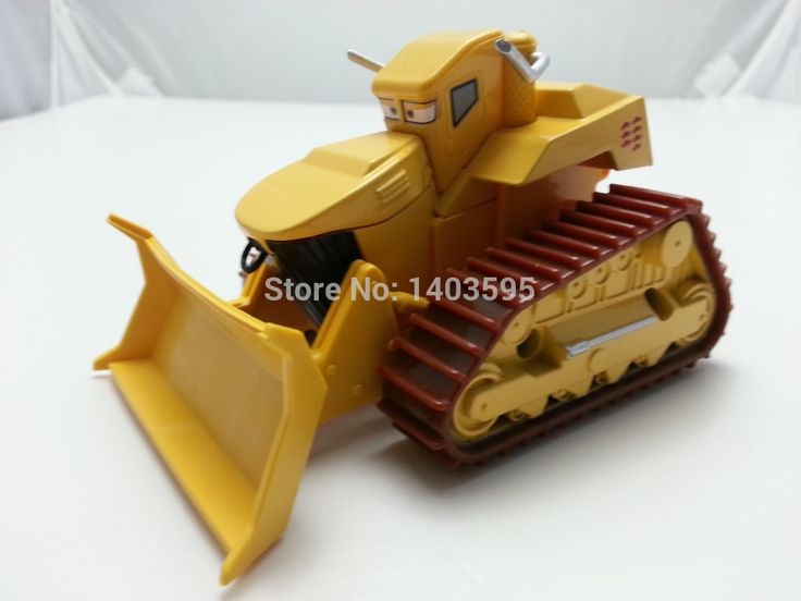 Pixar Cars Toon El Materdor Chuy Bull Bulldozer Deluxe 1/55 Diecast Metal Diecast Toy Car 1:55 Loose Brand New & Free Shipping