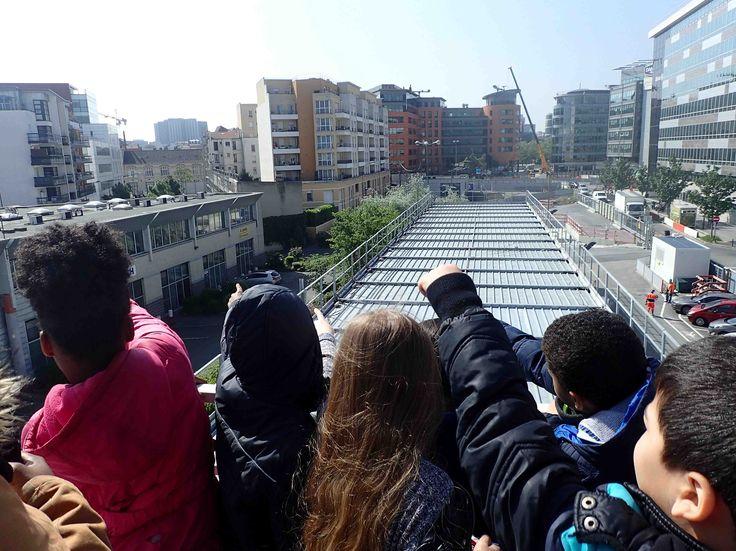 Ateliers pédagogiques sur le prolongement de la ligne 14 - Quatre classes de CE2, CM2, 6ème et 5ème de Paris et Saint-Ouen ont partagé leurs regards sur le métro.