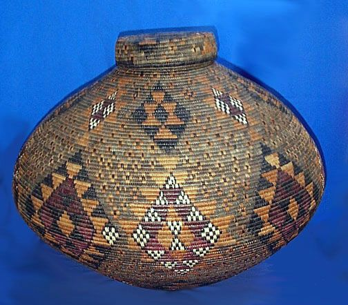 South African Baskets: African Zulu Baskets From South Africa